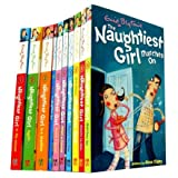 The Naughtiest Girl Set, 10 Books, RRP �49.99 (Naughtiest Girl in the School, Naughtiest Girl Again, Is a Monitor, Here's the Naughtiest Girl, Keeps a Secret, Helps a Friend, Saves the Day, Well Done the Naughtiest Girl, Wants to Win, Marches Onby Enid Blyton