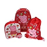 Peppa Pig Tropical Paradise 4Pc Luggage Set