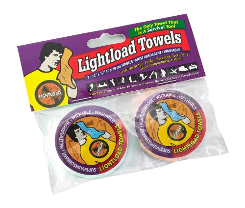 Lightload Towels (Two Pack12x12