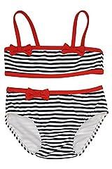 Kate Mack Girl's 2-6X Bateau L'Amour Bikini - Navy