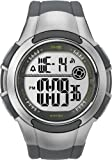 Timex Men's T5K238 1440 Sports Digital Sport Gray/Silver-Tone Resin Strap Watch