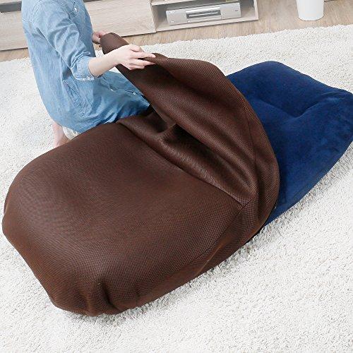 【あぐらシリーズ】 座椅子カバー カバー単品 あぐら座椅子専用 カバー 洗える ウォッシャブル ブラウン