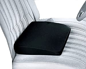 smooth comfort foam slanted orthopedic wedge seat cushion automotive. Black Bedroom Furniture Sets. Home Design Ideas