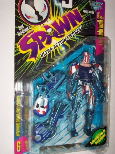 McFarlane Toys Spawn Ultra Action Super Partriot Figure - 1
