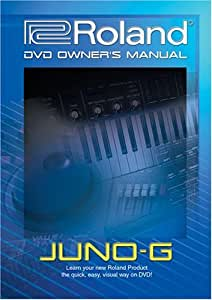 Roland Juno-G DVD Video Training Tutorial Help