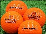 【Aランク】【ロゴなし】MAXFLI HYPER EASE2 オレンジ 20個セット 【ロストボール】
