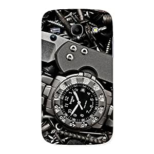 Knife And Watch Back Case Cover for Galaxy Core