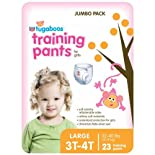 Rite Aid Tugaboos Training Pants for Girls, Jumbo Pack, L/3T-4T, 32-40 lbs, 23 ea