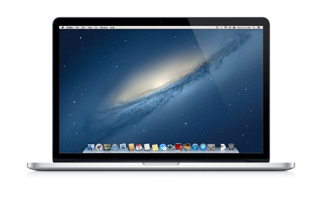 "Apple MacBook Pro 15.4"" – Retina Chris just switched back to using a 15″ MacBook Pro with Retina display. He docks it into a 27″ Thunderbolt display when at home."