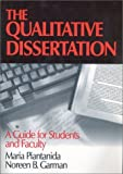 img - for The Qualitative Dissertation: A Guide for Students and Faculty by Maria Piantanida (1999-04-16) book / textbook / text book