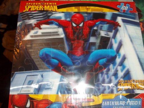 Spiderman Lenticular Puzzle 28 Pc