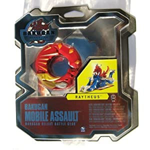 BATTLE GEAR DELUXE - Bakugan RAYTHEUS - Bakugans Battle Gear deluxe