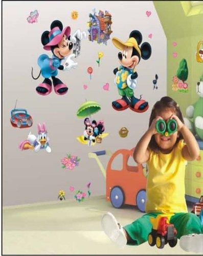 EUR 18,80 Adesivi murali Topolino 3d bambini, , ragazzo & piccola ...