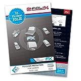 atFoliX Lámina protectora de pantalla FX-Clear para Garmin nüvi 1300 (3 uds.) - ¡Protección para la pantalla transparente como el cristal!