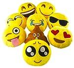 Pawliss Emoji Mini Stuffed Plush Toy...
