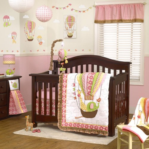 Cocalo Up & Away crib bedding set - 1