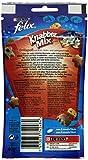 Felix Knabber Mix Katzensnack Grillspaß, 8er Pack (8 x 60 g) -