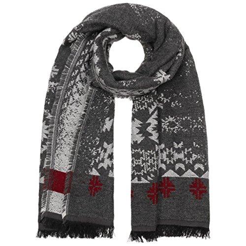 XXL Cotton Blend Sciarpa Passigatti sciarpa da donna sciarpa invernale Taglia unica - antracite