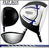 FLIT-BOX4 フリットボックス4 短尺 重ヘッド ペンタゴンドライバー 【 9.5° 10.5° 】【 S / Rシャフト 】 ヘッドカバー付き 五角形ドライバー