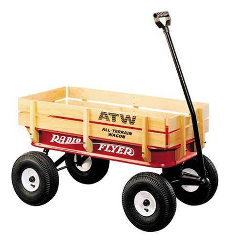 Purchase Radio Flyer All-Terrain Steel and Wood Wagon