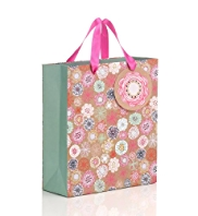Illustrative Floral Medium Gift Bag
