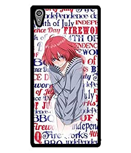 Fuson 2D Printed Girly Designer back case cover for Sony Xperia Z5 - D4371
