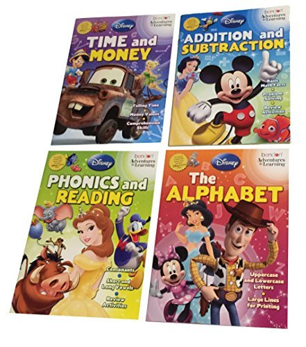Disney Adventures in Learning Activity Book Set - 1
