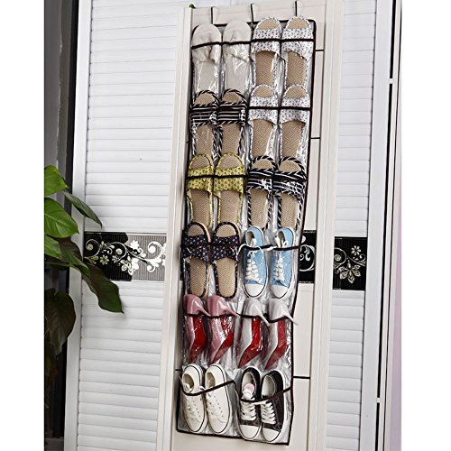 Celestte Shoe Organizers 22 Pockets Oxford Fabric Hanging