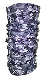 Stycoon Unisex 13 in 1 Blue Abstract Military Multifunctional Headwear