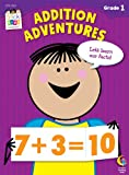 img - for Addition Adventures Stick Kids Workbook, Grade 1 (Stick Kids Workbooks) book / textbook / text book