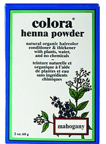 Colora Henna Powder, Mahogany (Red Mahogany Dye compare prices)