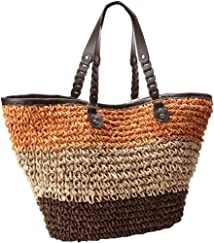 San Diego Hat Women's Crochet Stripe Bag