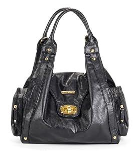 timi & leslie Annette 7-Piece Diaper Bag Set, Black