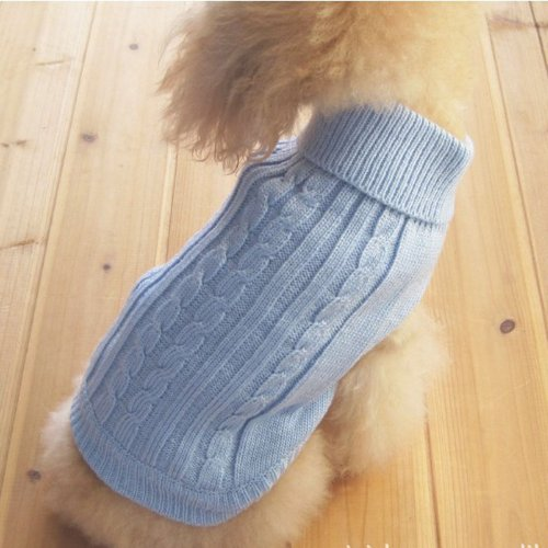 tangpan-turtleneck-classic-straw-rope-pet-dog-sweater-apparel-blues-by-tangpan