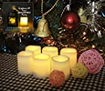 Battery Operated Candles - 6 Unscente...