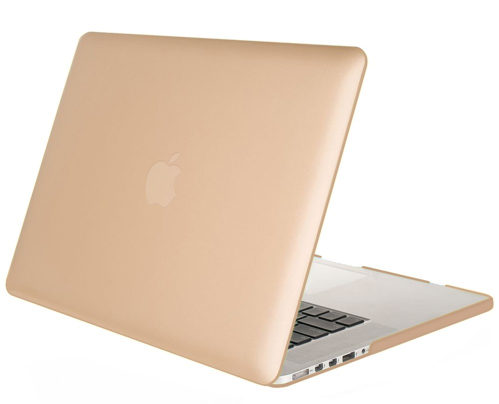 "Mosiso - Gold Retina 13-Inch Hard Case Cover for Apple MacBook Pro 13.3"" with Retina Display A1502 / A1425"