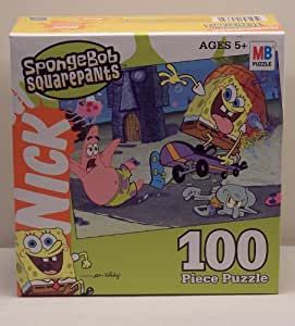 Buy spongebob squarepants 100 piece puzzle skateboarding for 100 piece floor puzzles