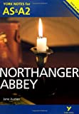 Northanger Abbey: York Notes for AS & A2