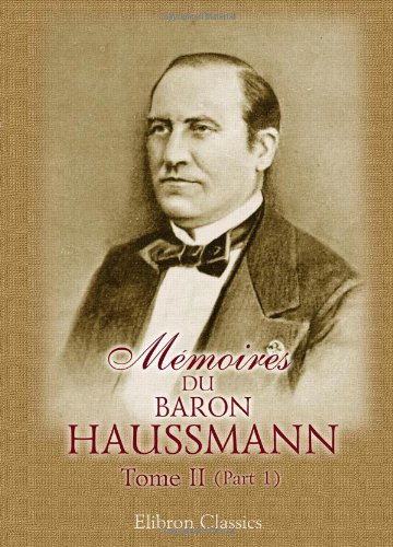 baron haussmann Haussmann definition, french administrator who improved the landscaping, street designs, and utilities systems of paris see more.