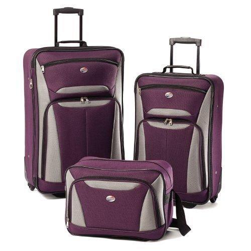 american-tourister-luggage-fieldbrook-ii-3-piece-set-purple-grey-new