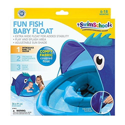 Swimschool Fun Fish Babyboat In Blue By Aqua Leisure New Ebay