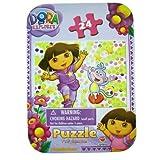 Dora The Explorer Travel Puzzle Set - Nickelodeons Dora The Explorer Mini Puzzle Set (24pcs)