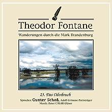 Das Oderbruch (Wanderungen durch die Mark Brandenburg 23) Hörbuch von Theodor Fontane Gesprochen von: Gunter Schoß