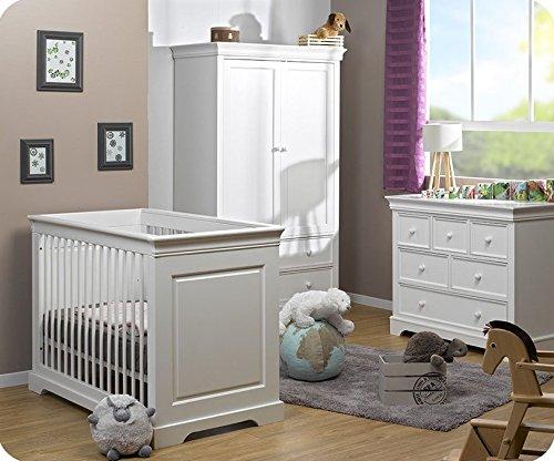 Babyzimmer komplett Mel weiß