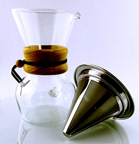Non Glass Coffee Maker : Best Personal Pour Over Slow Drip Coffee Maker Non Electric - CLEVER COFFEE DRIPPER - Cone ...