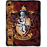 Warner Brothers' Harry Potter, Battle Flag Micro Raschel Throw by The Northwest Company, 46 by 60""