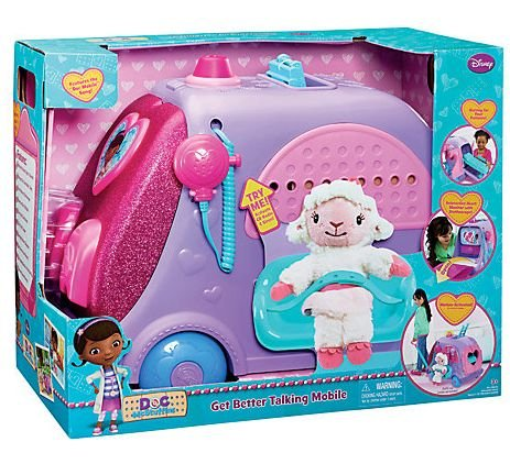 Disney Doc McStuffins Get Better Talking Mobile - 1