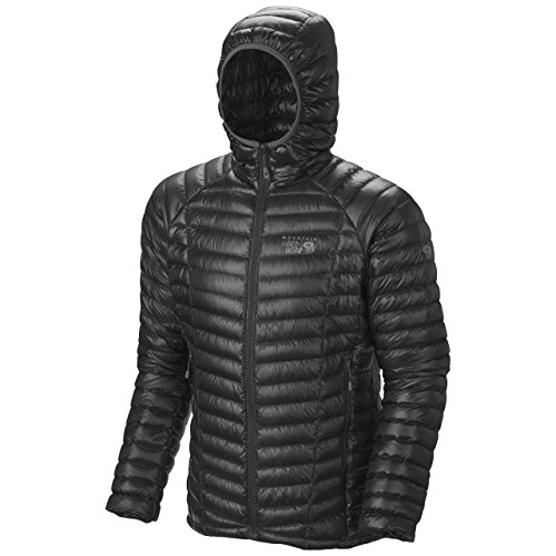 Mountain Hardwear Donna Ghost Whisperer con cappuccio Down Jacket, donna, Ghost Whisperer Hooded Down, nero, M