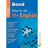 Bond How To Do 11+ Englishby Elisabeth Heesom