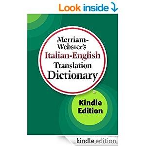 merriam webster 39 s italian english translation dictionary italian edition merriam webster. Black Bedroom Furniture Sets. Home Design Ideas
